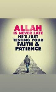 Sabr in Islam (33)
