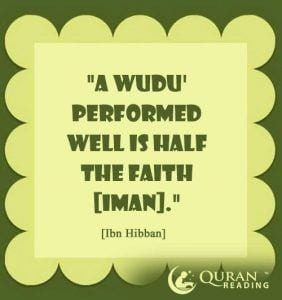 How To Perform Ablution (Wudu) (4)