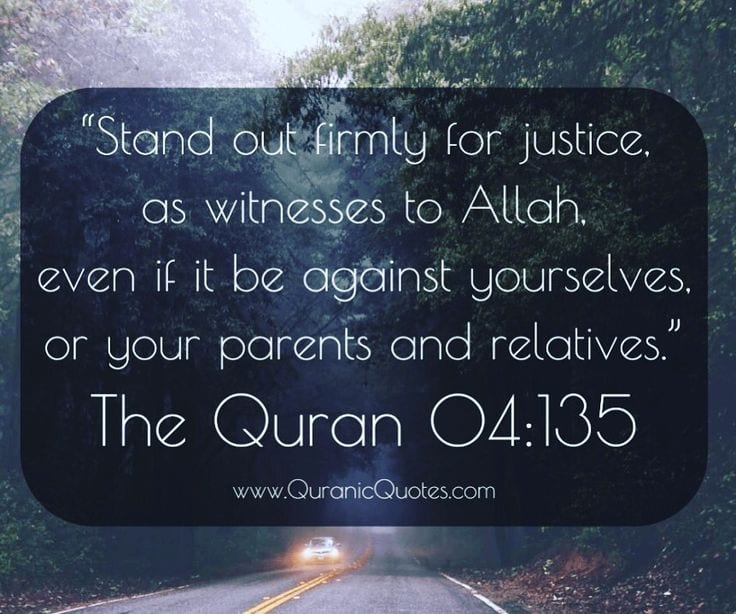 Quotes About Justice: Justice In Islam-25 Inspirational Islamic Quotes On Justice