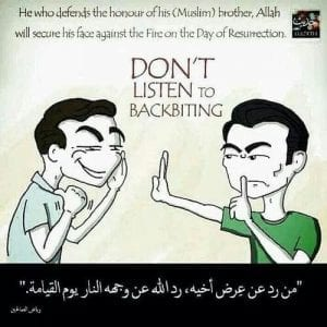Hadiths And Islamic Quotes On Backbiting (17)