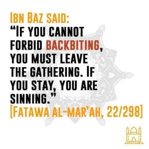 Hadiths And Islamic Quotes On Backbiting (9)