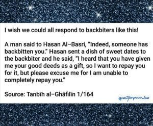 Hadiths And Islamic Quotes On Backbiting (8)