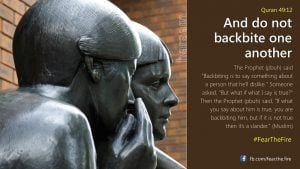 Hadiths And Islamic Quotes On Backbiting (5)