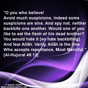 Hadiths And Islamic Quotes On Backbiting (1)