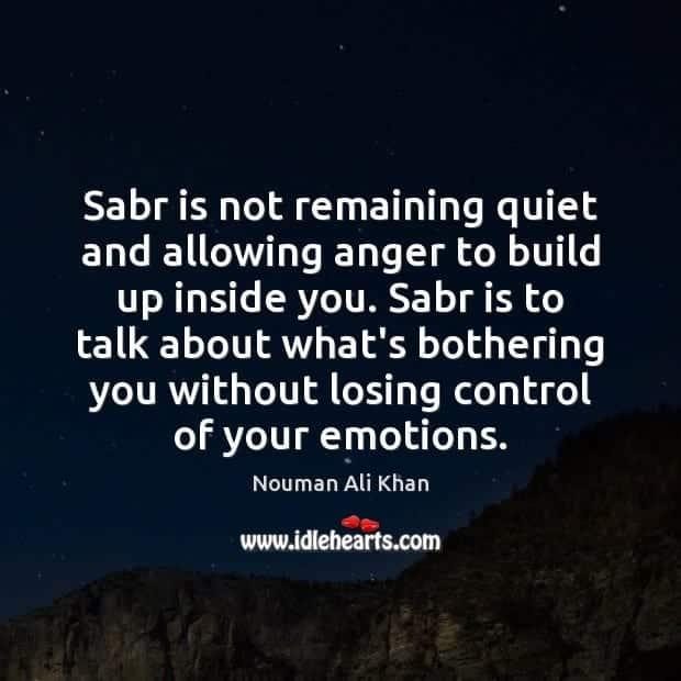 Sabr in Islam (38)