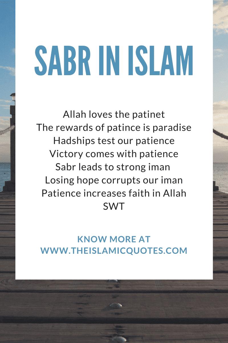Sabr in Islam (3)