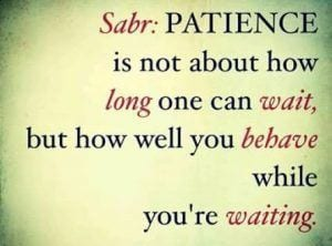 Sabr in Islam (15)