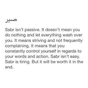 Sabr in Islam (34)