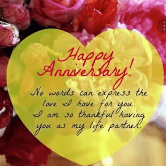 anniversary wish for husband