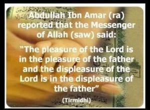 Fathers status in Islam (39)