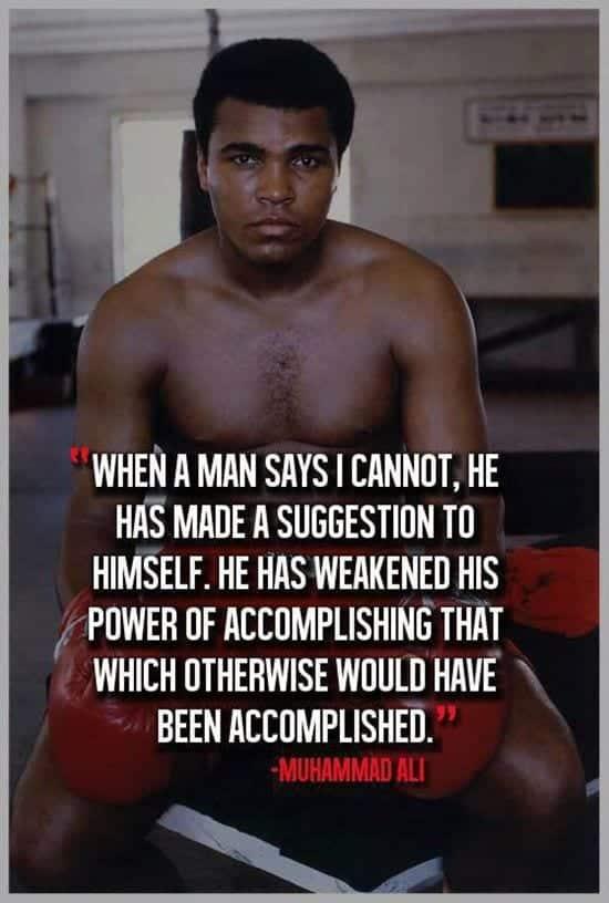 Muhammad Ali Quotes (20)