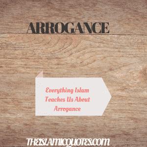 Arrogance in Islam (39)