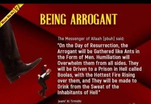 Arrogance in Islam (24)