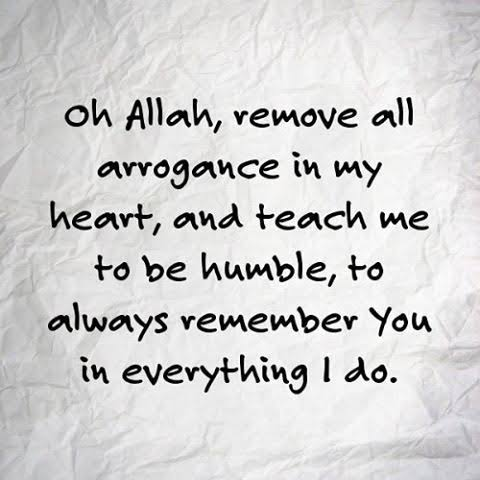 Arrogance in Islam (40)