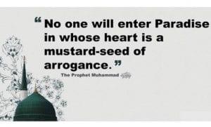 Arrogance in Islam (10)