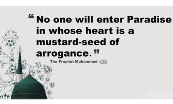 Arrogance in Islam (29)