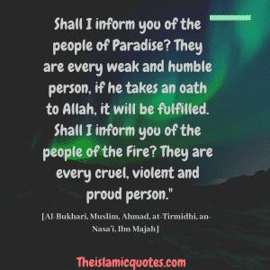 Arrogance in Islam (27)