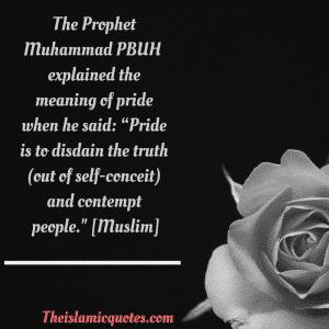 Arrogance in Islam (3)