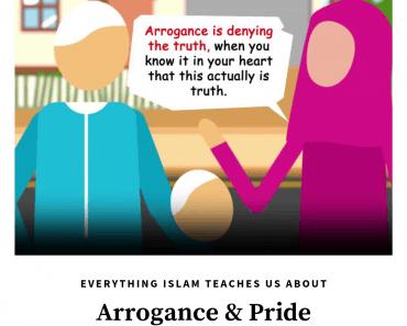 arrogance in islam
