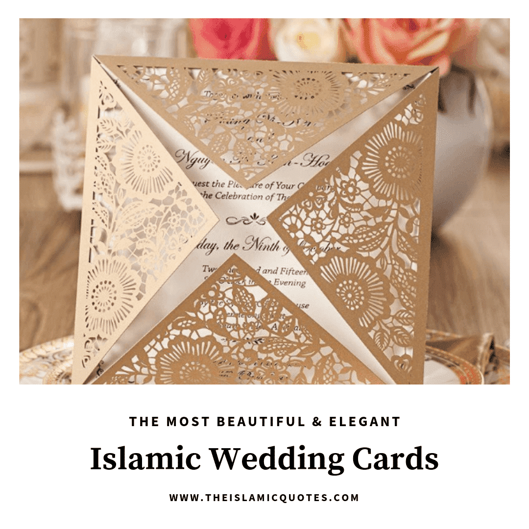 muslim wedding invitation cards