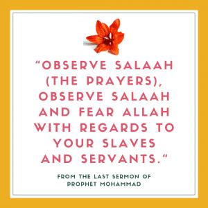 servants in islam quotes