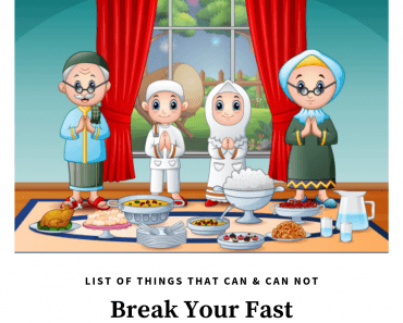 things that break the fast