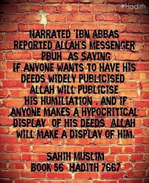 Hypocrisy in Islam quotes (2)