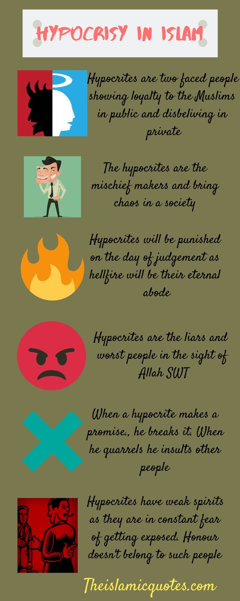 Hypocrisy in Islam quotes (3)