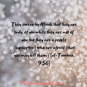Hypocrisy in Islam quotes (12)