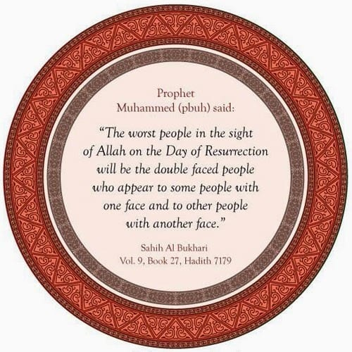 Hypocrisy in Islam quotes (16)