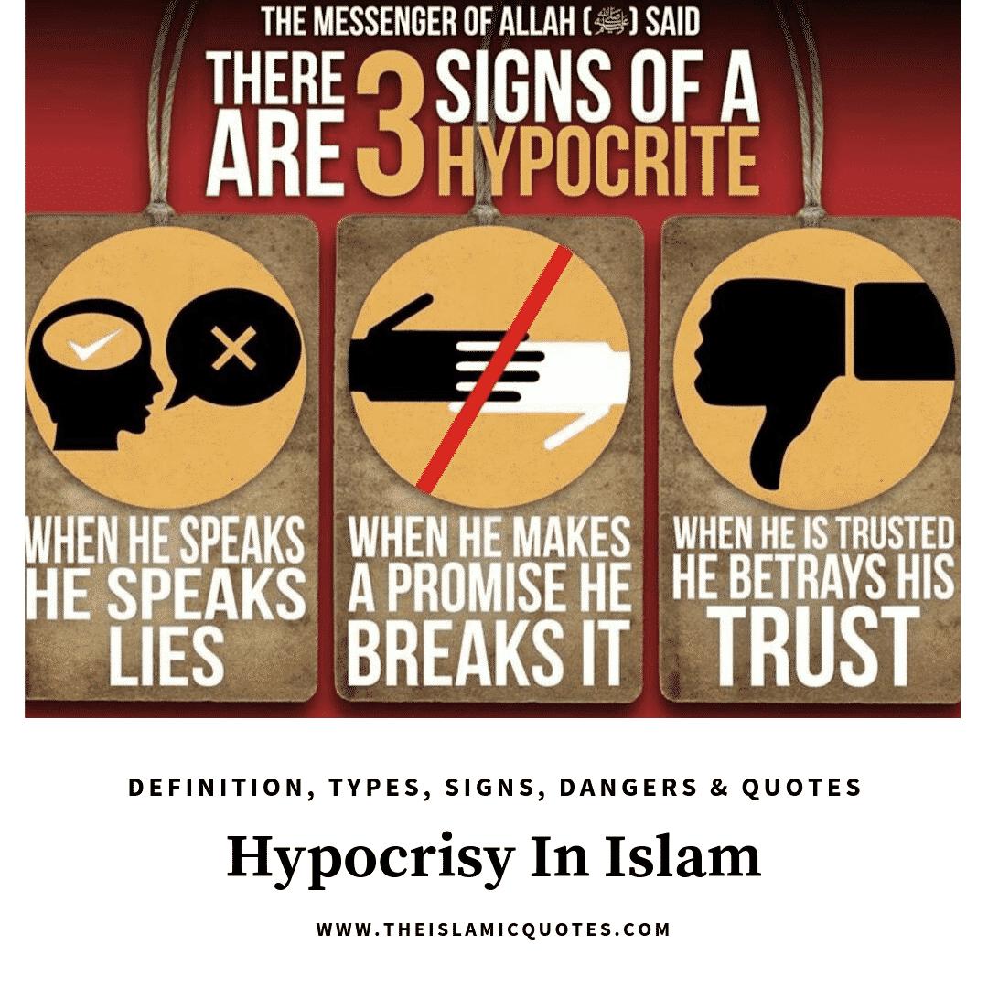 hypocrisy in islam quotes
