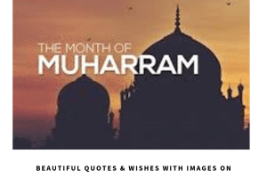muharram wishes and status images
