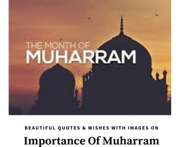 muharram wishes and status images
