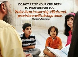 Raising children in islam (1)