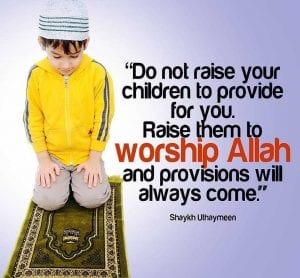 Raising children in islam (3)