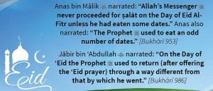 sunnah acts for eid