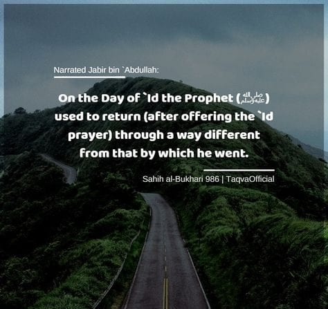 sunnah acts for eid