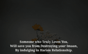 how to quit a haram relationship in islam