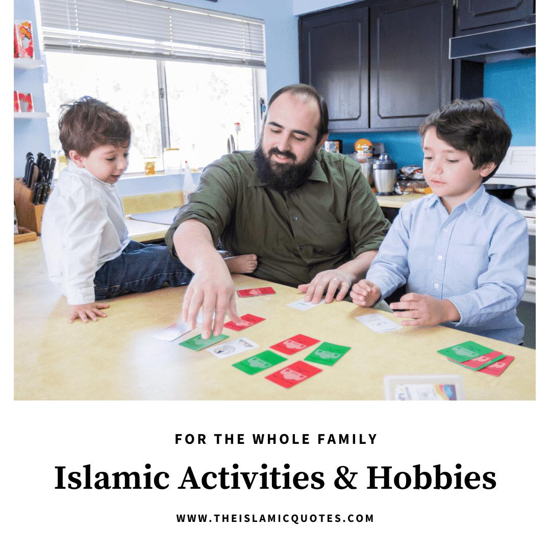 islamic activities for the corona lockdown