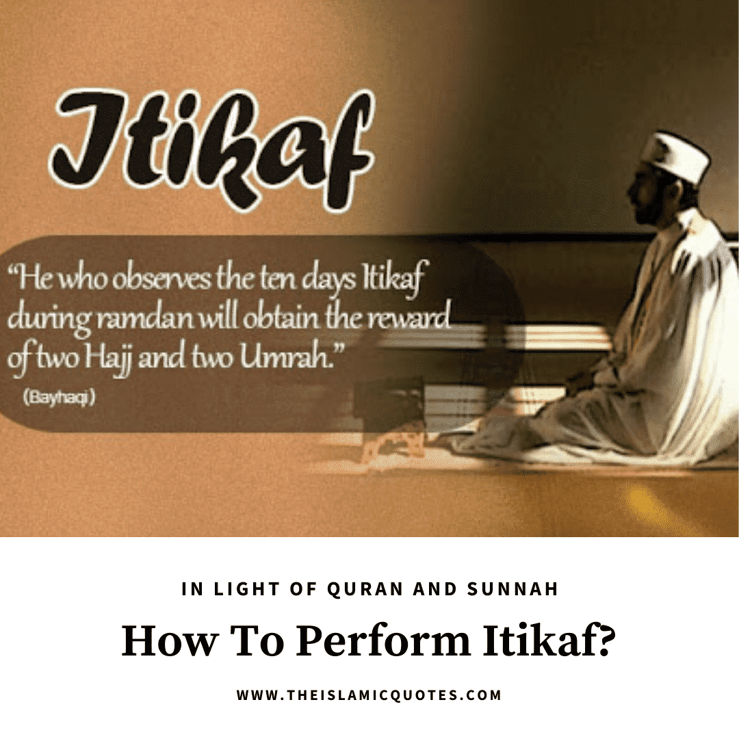 how to do itikaf