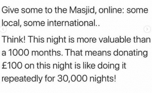 things to do on night of power