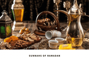 sunnahs of fasting in ramadan