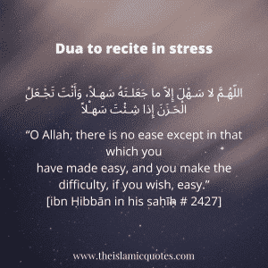 stress dua 2