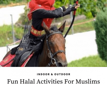 halal hobbies and activities
