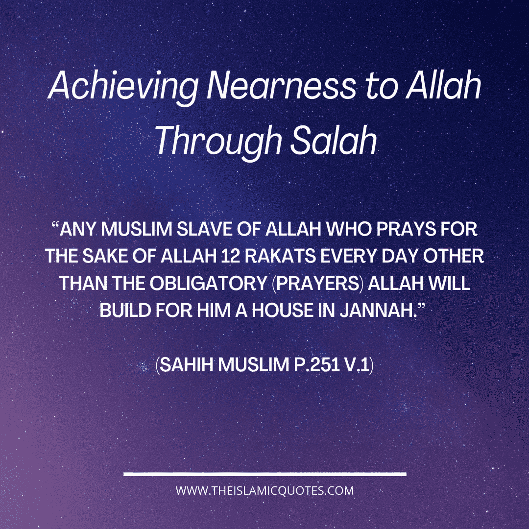 Attaining nearness to Allah