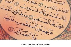 Surah Fatihah Summary7 Beautiful Lessons From Surah Fatiha nbsp