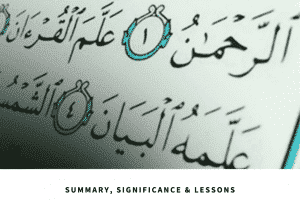 significance of surah rehman