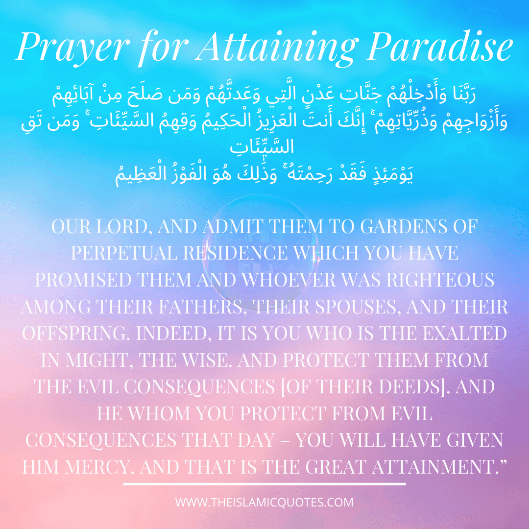 Powerful Prayers to Ask Allah (SWT) for Paradise and Seeking Protection from Hell Fire