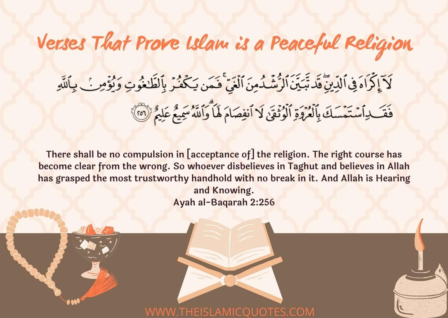 Quranic Verses on Peace