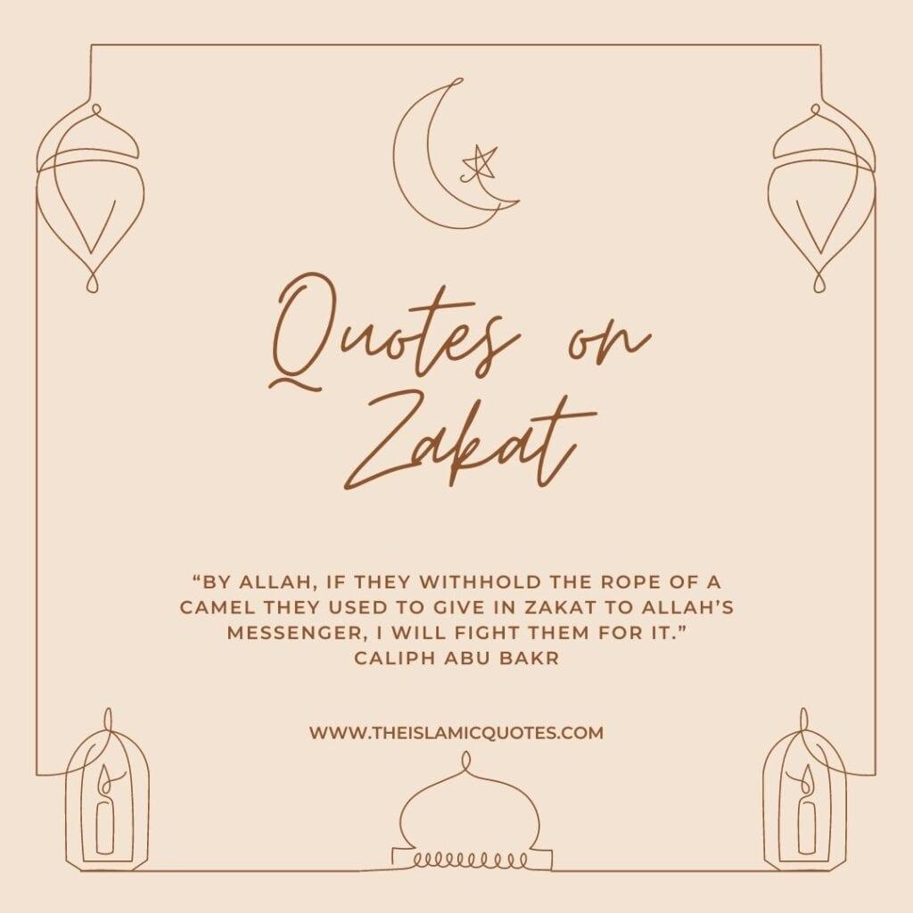 quotes on zakat